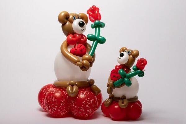 Love Bears | Producten & Diensten | Ballonnen Creaties | Ballon10 Ballonnen Decoratie